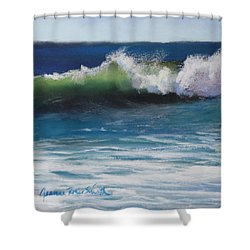 Sunny Day Shower Curtain by Jeanne Rosier Smith