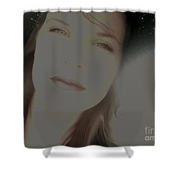 Sunny Disposition Shower Curtain by Amanda Barcon