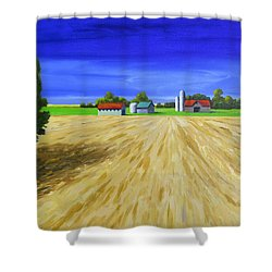 Sunny Fields Shower Curtain