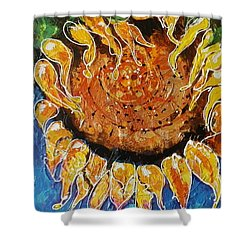 Sunny Shower Curtain