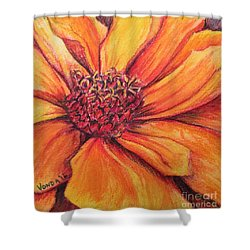 Sunny Perspective Shower Curtain