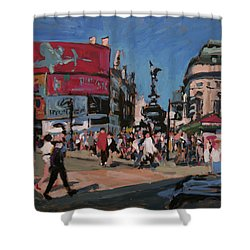 Sunny Piccadilly Shower Curtain