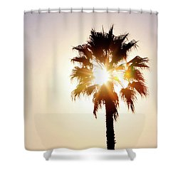 Shower Curtain featuring the photograph Sunny Southern California by Art Block Collections