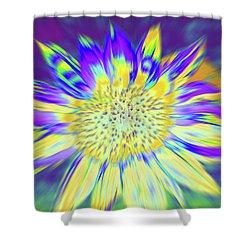 Sunpopped Shower Curtain