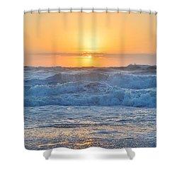 Sunrise 18th Of June Shower Curtain