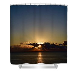 Shower Curtain featuring the photograph Sunrise 2 by Shabnam Nassir