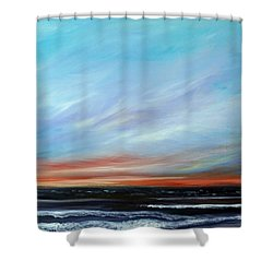 Sunrise And The Morning Star Eastern Shore Shower Curtain