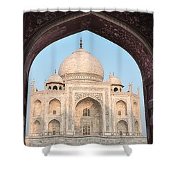 Sunrise Arches Of The Taj Mahal Shower Curtain