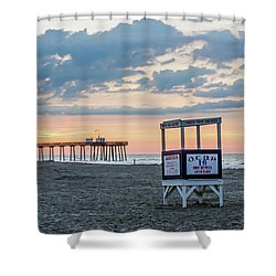 Sunrise At 16th Street Ocean City New Jersey Shower Curtain