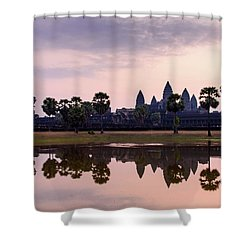 Sunrise At Angkor Wat Shower Curtain