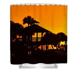 Sunrise At Barefoot Park Shower Curtain