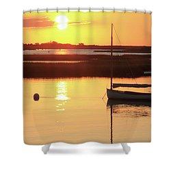 Sunrise At Bass River Shower Curtain
