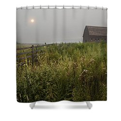 Sunrise At Black Sage Shower Curtain by John Poon