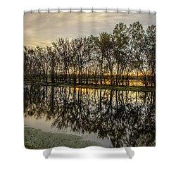 Sunrise At Brazos Shower Curtain