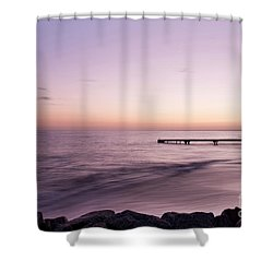 Shower Curtain featuring the photograph Sunrise At Busselton by Ivy Ho