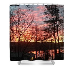 Sunrise At Carolina Trace Shower Curtain