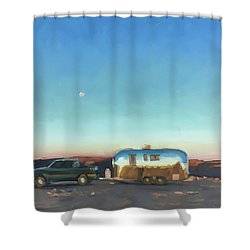 Sunrise At Gooseneck Canyon. Shower Curtain