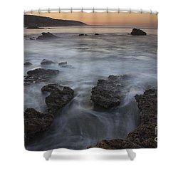 Sunrise At Laguna Beach II Shower Curtain by Keith Kapple