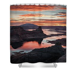 Sunrise At Lake Powell Shower Curtain
