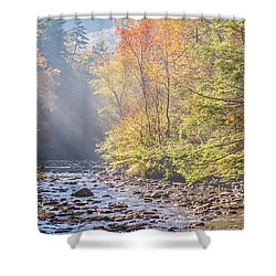 Sunrise At Metcalf Bottoms Shower Curtain