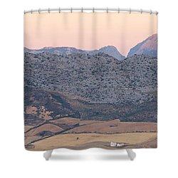 Sunrise At Mirador De Ronda Shower Curtain