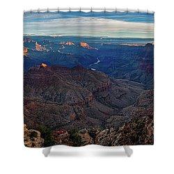 Sunrise At Navajo Point Shower Curtain