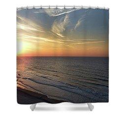 Sunrise At North  Myrtle Beach Shower Curtain