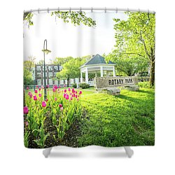 Sunrise At Rotary Park Shower Curtain