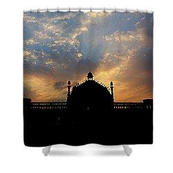 Sunrise At Rumi Gate Shower Curtain