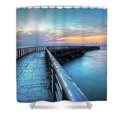 Sunrise At Sebastian Inlet Shower Curtain