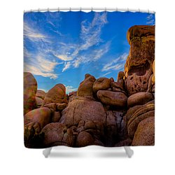Shower Curtain featuring the photograph Sunrise At Skull Rock by Rikk Flohr