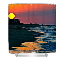 Sunrise At St. George Island Florida Shower Curtain