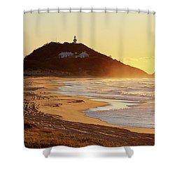 Sunrise At Sugarloaf Point Shower Curtain