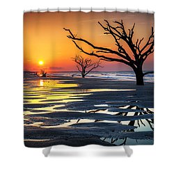 Sunrise At The Boneyard Shower Curtain