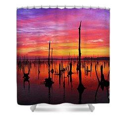 Sunrise Awaits Shower Curtain