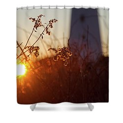 Sunrise Backlight Shower Curtain