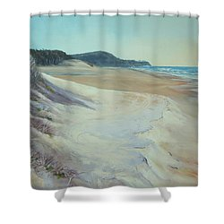 Sunrise Beach And Lions Head Noosa Heads Queensland Shower Curtain