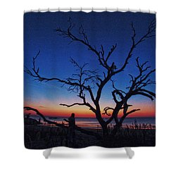Sunrise Beach Shower Curtain