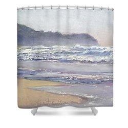 Sunrise Beach Sunshine Coast Queensland Australia Shower Curtain