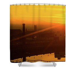 Sunset Belfast Shower Curtain