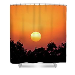 Shower Curtain featuring the photograph Sunrise Bliss by Shelby Young