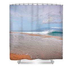 Shower Curtain featuring the photograph Sunrise Break by Kelly Wade