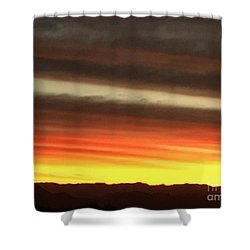 Sunrise Collection #1 Shower Curtain