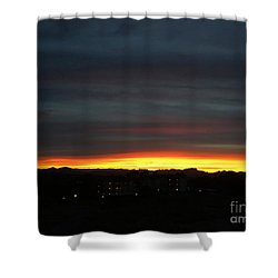 Sunrise Collection, #5 Shower Curtain