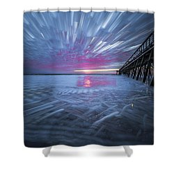 Sunrise Color Shower Curtain