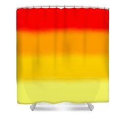 Sunrise - Sq Block Shower Curtain