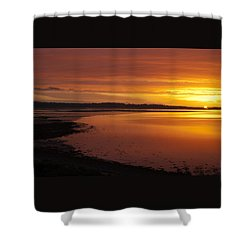 Sunrise Dornoch Firth Scotland Shower Curtain