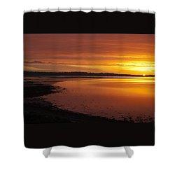 Sunrise Dornoch Firth Scotland Shower Curtain