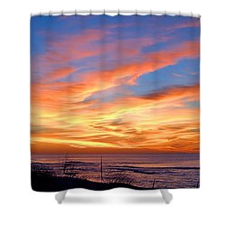 Sunrise Dune I I I Shower Curtain by  Newwwman