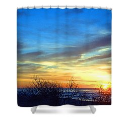 Sunrise Dune I I Shower Curtain by  Newwwman